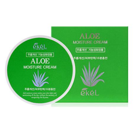 Увлажняющий крем с экстрактом алоэ aloe moisture cream ekel