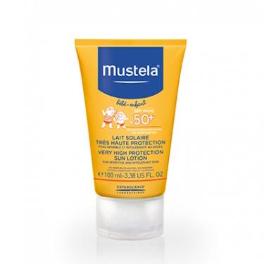 Солнцезащитное молочко с очень высокой степенью защиты spf 50+ 40 мл mustela