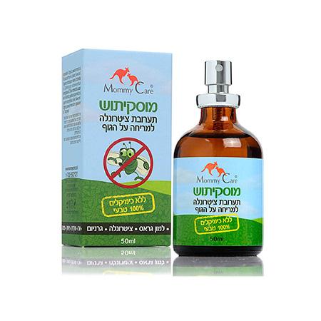 Масло для отпугивания комаров mosquitush 50 мл mommy care