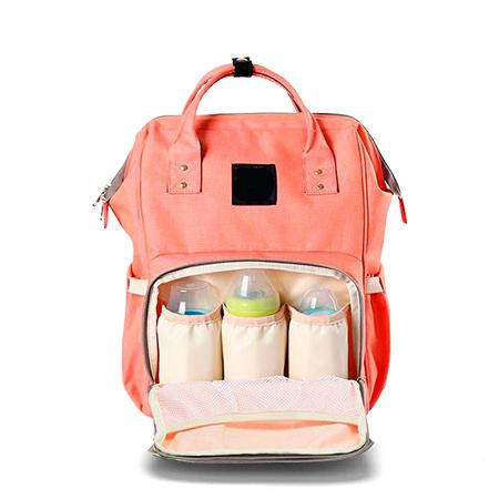 Купить со скидкой Сумка-рюкзак для мамы (персиковая)
