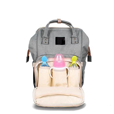 Купить Сумка-рюкзак для мамы (серая), Деошоп
