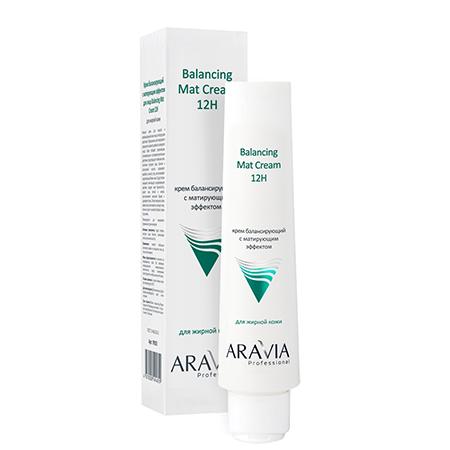 Крем для лица балансирующий с матирующим эффектом 100 мл aravia
