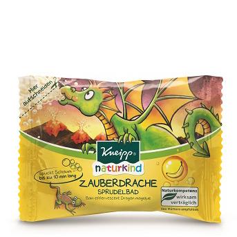 Таблетка шипучая для ванн волшебный дракон с ароматом банана 80 г kneipp naturkind