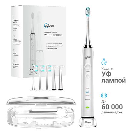 Купить Ультразвуковая зубная щетка f38 (белая) acleon