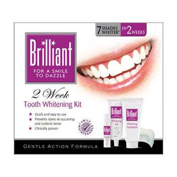 Комплекс для отбеливания зубов (полный курс) brilliant