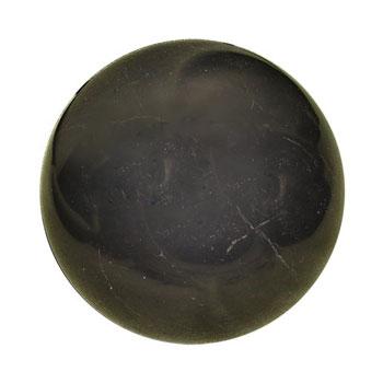 Полированный шар 50 мм шунгит D2846