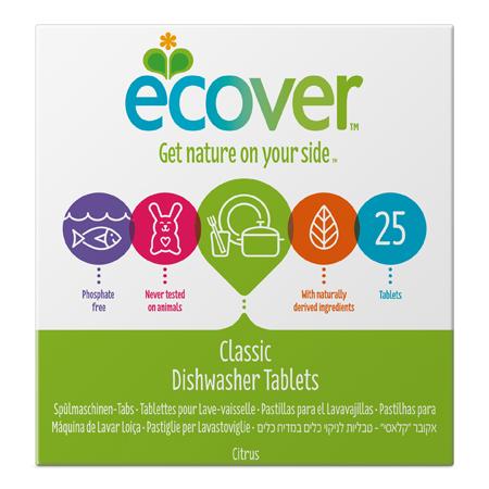 Экологические таблетки (для посудомоечной машины) ecover (500 гр)