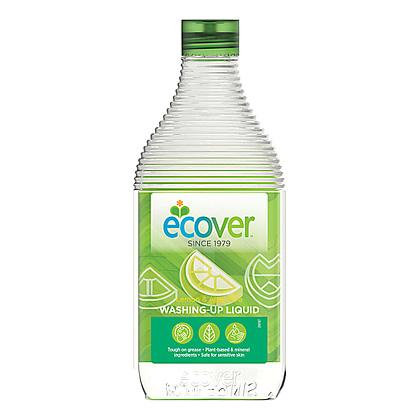Экологическая жидкость (для мытья посуды) с лимоном и алоэ-вера ecover (450 мл) ecover экологическая жидкость для мытья посуды с лимоном и алоэ верой