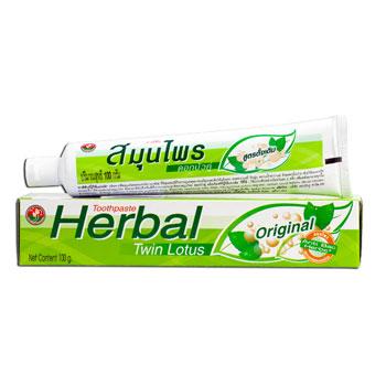 Растительная зубная паста (очищение и питание) «оригинальная» twin lotus