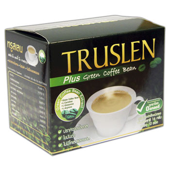 ������� �������� �green coffee� ������� ���� truslen (Truslen)