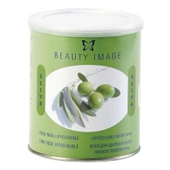 Баночка с воском с маслом оливы натуральный (для любого типа кожи) beauty image (400 гр) (Beauty Image)