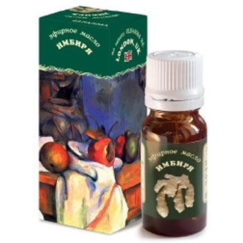 Эфирное масло имбиря эльфарма