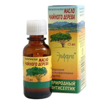 Масло чайного дерева (для лица, волос) эльфарма