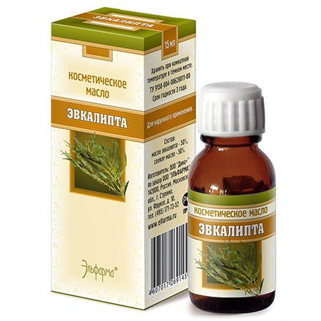 Масло эвкалипта (профилактика и лечение кожных заболеваний) эльфарма