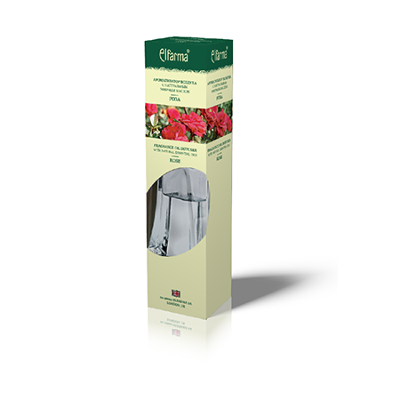 Ароматизатор воздуха с натуральным эфирным маслом розы эльфарма D3201