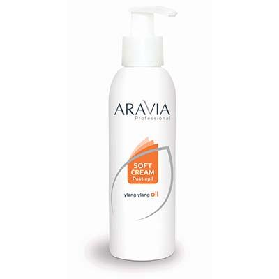 Сливки после депиляции (с дозатором) aravia professional (150 мл)