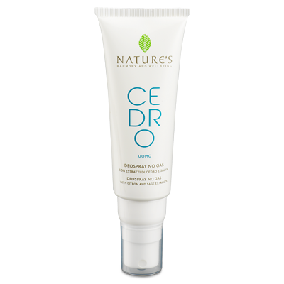 Cedro дезодорант для мужчин nature's