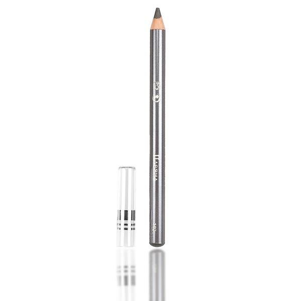 Стойкий карандаш для век №102 (серый с перламутром) pleyana