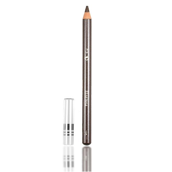 Стойкий карандаш для век №105 (серый с микроблеском) pleyana