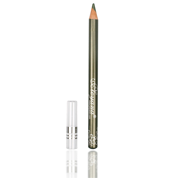 Стойкий карандаш для век №107 (хамелеон, тёмный хаки с перламутром) pleyana (PLEYANA)