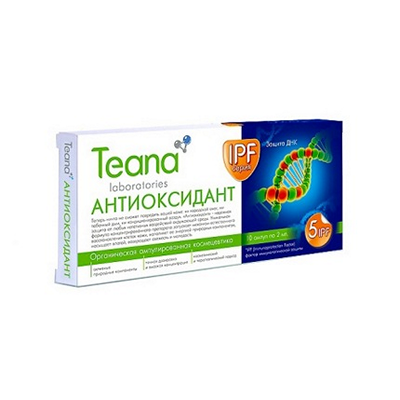 Сыворотка teana «антиоксидант»