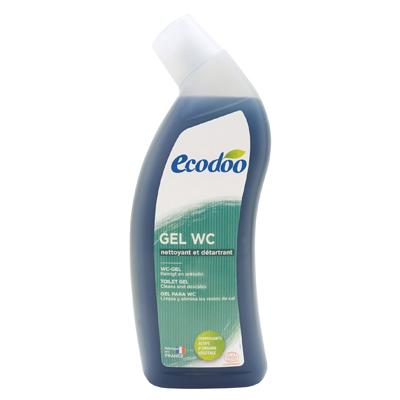 Гель wc для чистки сантехники с противоизвестковым действием ecodoo