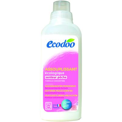 Кондиционер для белья с ароматом персика ecodoo