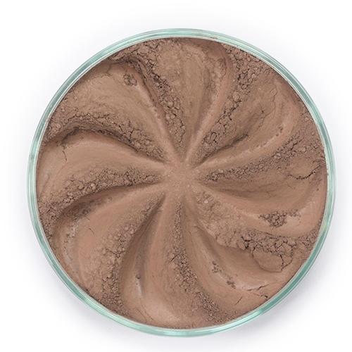 Минеральные тени для бровей brow (оттенок светло-коричневый)