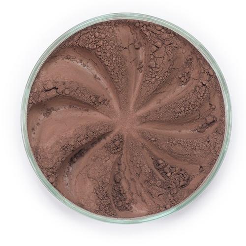 Минеральные тени для бровей brow (оттенок коричневый)