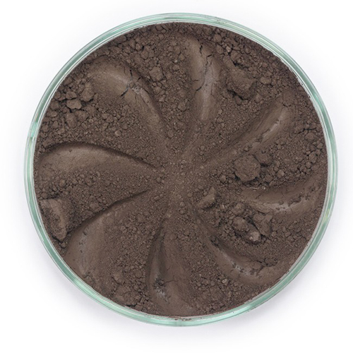 Минеральные тени для бровей brow (оттенок темно-кофейный)