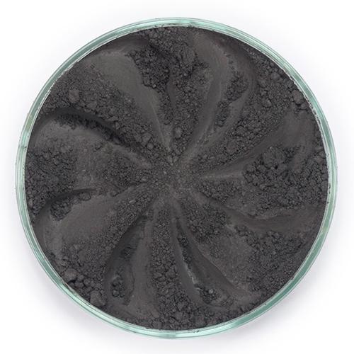 Минеральные тени для бровей brow (оттенок черно-коричневый)