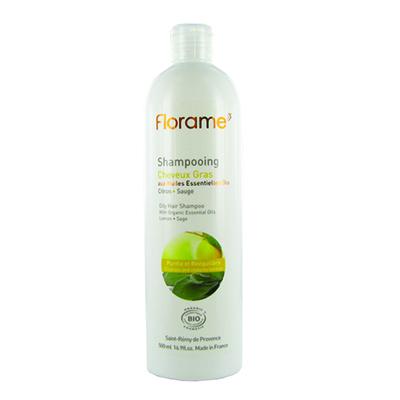 Шампунь для жирных волос florame, 500 мл