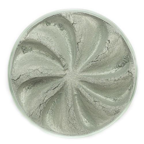 Минеральные тени jewel (серо-зеленый оттенок)