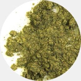 Минеральные тени jewel (травяной зеленый оттенок)