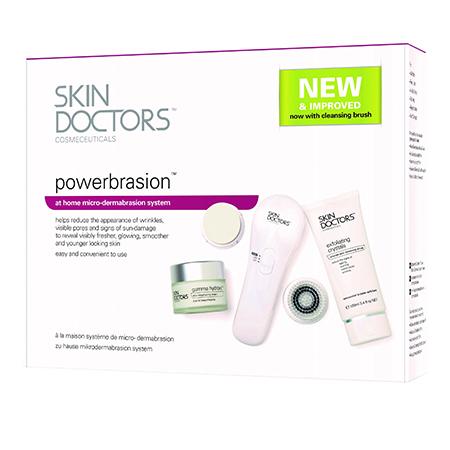 Набор для нежного пилинга powerbrasion skin doctors антивозрастной уход skin doctors косметический набор beetox