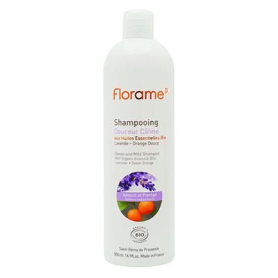 сыворотки florame florame femme de florame увлажняющая сыворотка для лица 30мл Шампунь для мягких и тонких волос florame, 500 мл