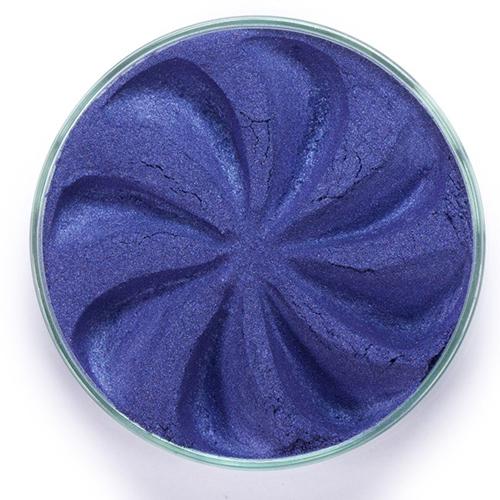 Минеральные тени jewel (королевский синий оттенок)