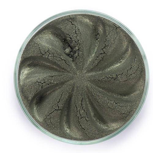 Минеральные тени jewel (темно-оливковый оттенок)