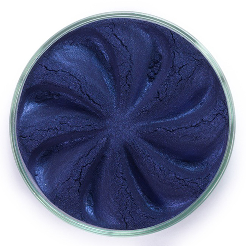 Минеральные тени jewel (сапфировый оттенок) тени