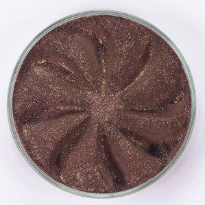 Минеральные тени luster (коричневый оттенок с мульти блестками)
