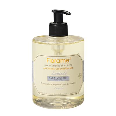Жидкое мыло «лаванда» florame парфюм для дома florame florame диффузер провансальский мята лимон эфирное масло 10мл