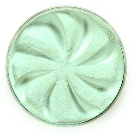 Минеральные перламутровые тени pearl (бледно-бирюзовый оттенок)