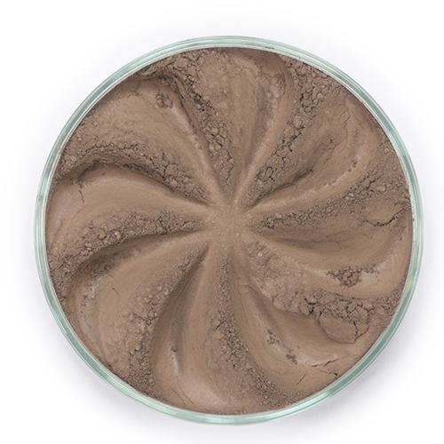 Мерцающие минеральные тени twinkle (светло-коричневый оттенок)