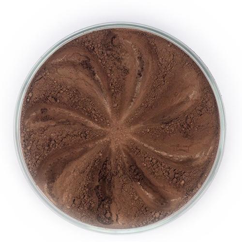 Мерцающие минеральные тени twinkle (темно-коричневый оттенок)