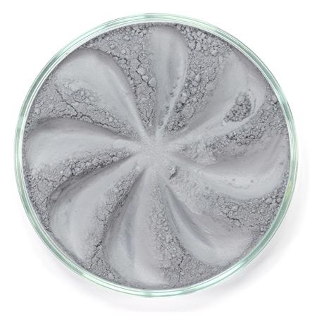 Шелковистые минеральные тени velvet (светло-серый оттенок)