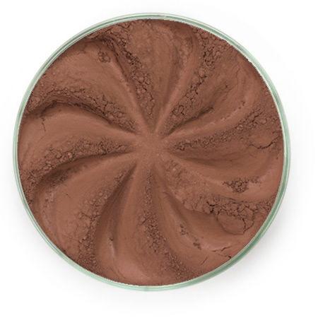 Шелковистые минеральные тени velvet (коричневый оттенок)