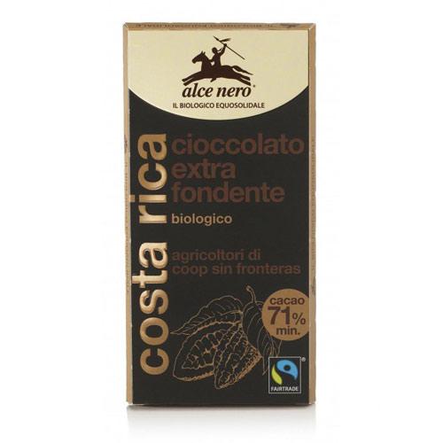 Горький шоколад alce nero