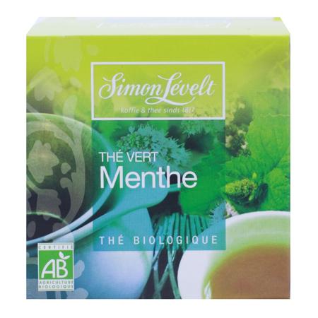 Чай зеленый байховый ароматизированный spearmint, simon levelt