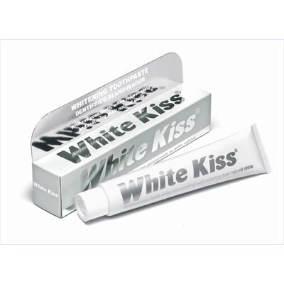 Отбеливающая зубная паста white kiss