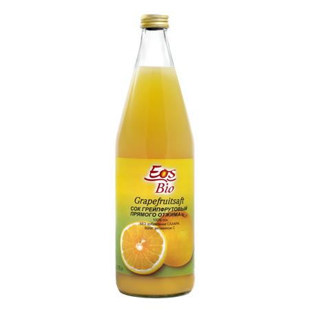 Сок грейпфрутовый eos bio